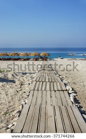 Amazing beaches and nature of Dhermi, Albania