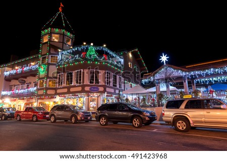Amazing Christmas Lighting wonderland in LeavenworthWA USA 1. Photo taken on 2014.12. & Amazing Christmas Lighting Wonderland Leavenworthwa Usa Stock ... azcodes.com