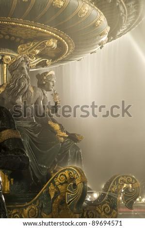Amazing fountain - stock photo