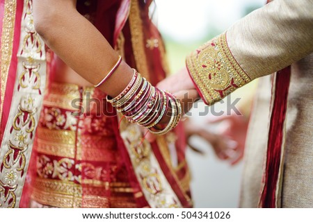Amazing Hindu Wedding Ceremony Details Of Traditional Indian Beautifully Decorated Accessories