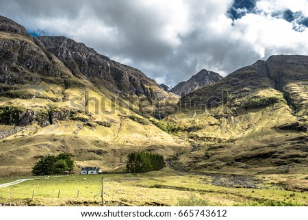 Scottish Cottage Stock Images Royalty Free Images