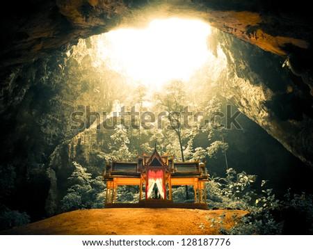 Amazing Thailand (Phraya Nakorn Cave) - stock photo