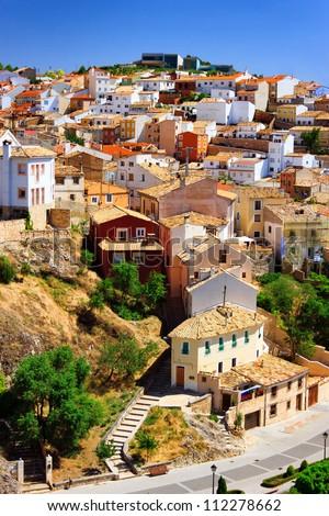 Amazing view of Cuenca, Spain - stock photo