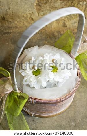 amazing wedding flowers - stock photo