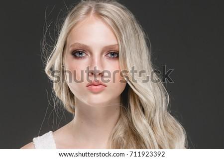 Busty blonde handjob cum