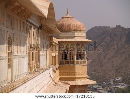 Amber Fort, Jaipur, India - stock photo