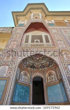 Amber Fort, Jaipur, Rajasthan, India - stock photo