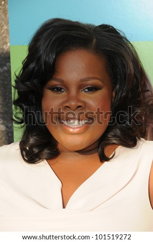 Amber Riley at the  'Glee' Academy Event, Henry Fonda Theater, Hollywood, CA. 07-27-10