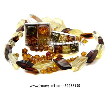Ambers - stock photo