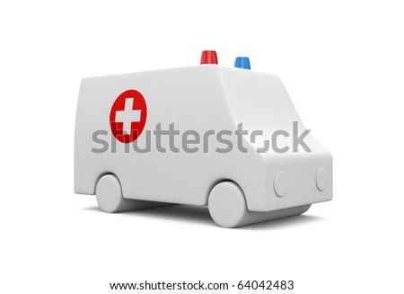 Ambulance - stock photo