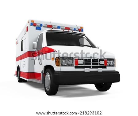 Ambulance Car - stock photo