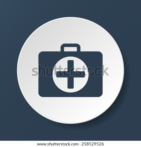 ambulanse icon -  icon.  - stock photo