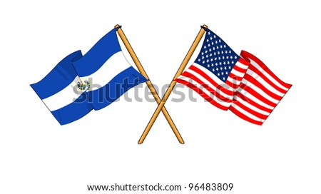America and El Salvador alliance and friendship