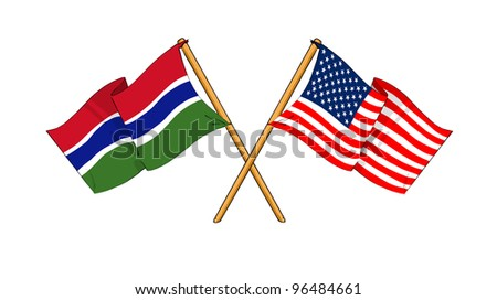 America and Gambia alliance and friendship