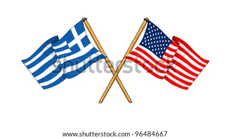 America and Greece alliance and friendship