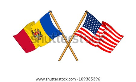 America and Moldova alliance and friendship
