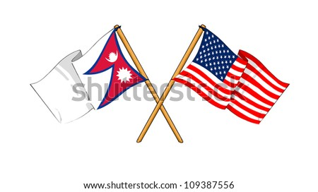 America and Nepal alliance and friendship