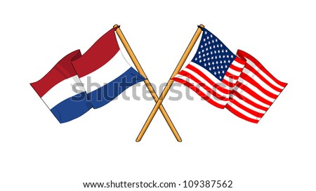 America and Netherlands alliance and friendship