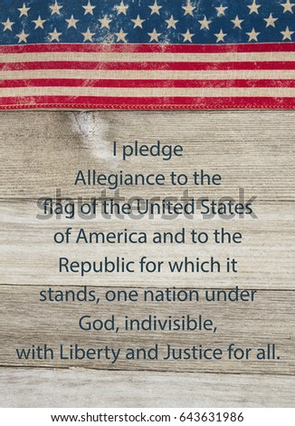 Pledge Of Allegiance Stock Images, Royalty-Free Images & Vectors ...