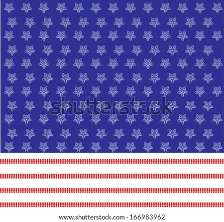 american background - stock photo