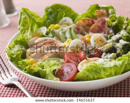 American Cobb Salad - stock photo