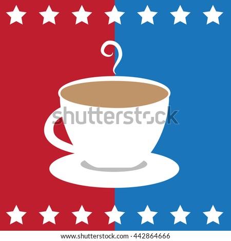 American Coffee - stock photo
