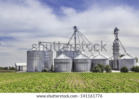 American Countryside  Organic Landscape - stock photo
