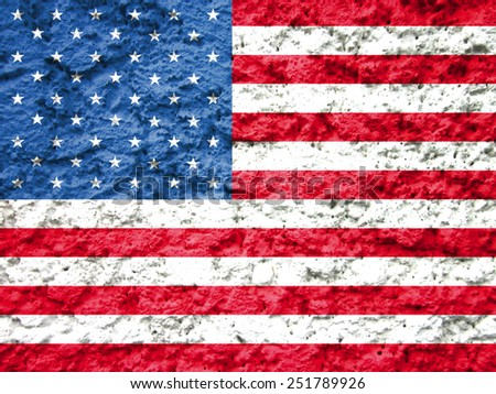 american flag abstract grunge background