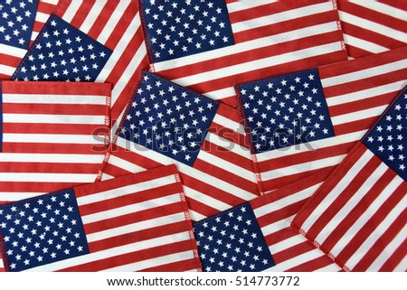 American flag collection