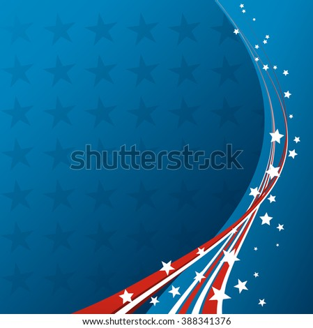 American Flag, patriotic background for Independence Day, Memorial Day. USA patriotic background. Independence day. Fourth of July. Star and stripes. USA flag. Independence Day american. American flag - stock photo
