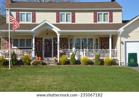 Ranch house stock images royalty free images vectors for High ranch house