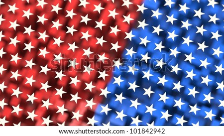 American flag theme background