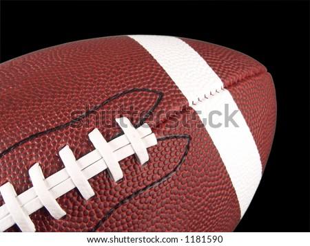 American Football Close Up - stock photo