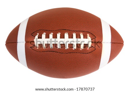 American Footballl - stock photo