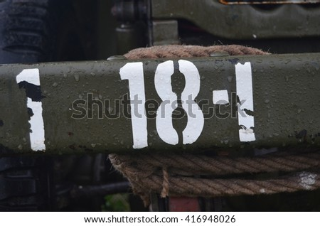 American historical military background - stock photo