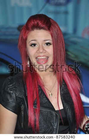 American Idol finalist Allison Iraheta at the American Idol Final 13 Party at Area Nightclub, West Hollywood. March 5, 2009  Los Angeles, CA Picture: Paul Smith / Featureflash
