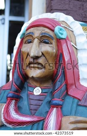 American Indian - stock photo