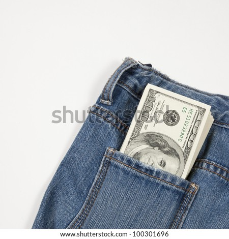American money - stock photo