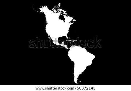 Americas - stock photo