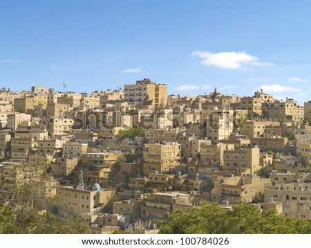 Amman, city of  Middle East, capital of Jordanian.