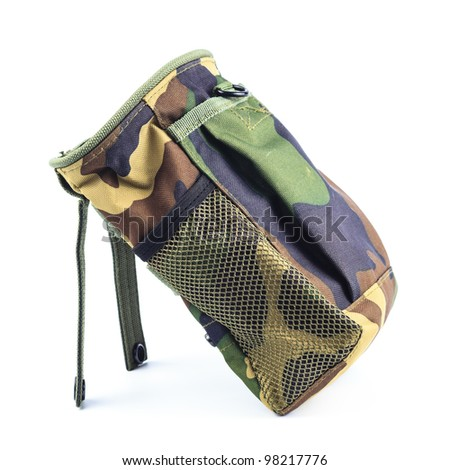 Ammunition bag for (cartridge) Bullet of shotgun - stock photo