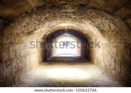 Amphitheatre of El Djem - UNESCO World Heritage Centre - stock photo