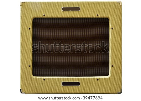 Amplifier in vintage design