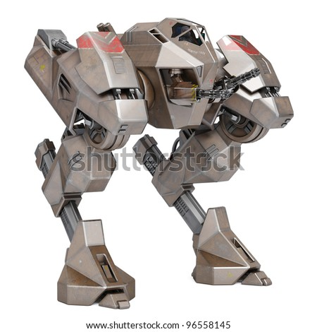 AMS robot - stock photo