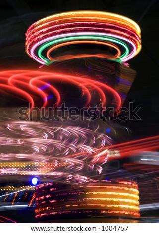 Amusement park 6 - stock photo