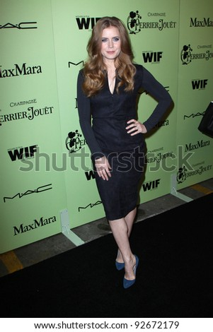 Amy Adams at the Fourth Annual Women in Film Pre-Oscar Cocktail Party, Soho House, West Hollywood, CA 02-25-11