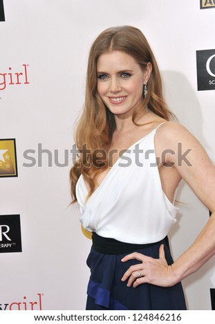 Amy Adams at the 18th Annual Critics' Choice Movie Awards at Barker Hanger, Santa Monica Airport. January 10, 2013  Santa Monica, CA Picture: Paul Smith - stock photo