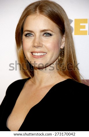 Amy Adams at the 8th Annual GLSEN Respect Awards held at the Beverly Hills Hotel in Beverly Hills on October 5, 2012.  - stock photo