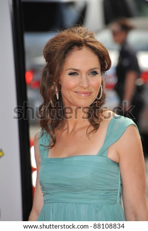 """Amy Brenneman at the premiere of """"Land of the Lost"""" at Grauman's Chinese Theatre, Hollywood. May 30, 2009  Los Angeles, CA Picture: Paul Smith / Featureflash - stock photo"""