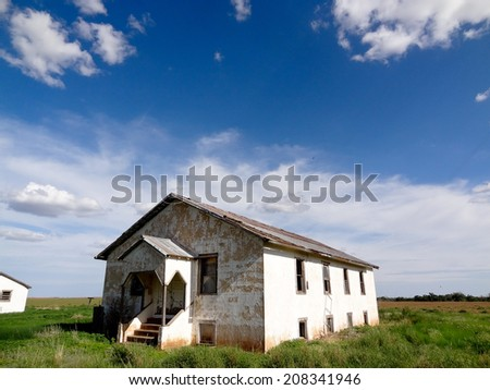 An abandoned Church.  - stock photo